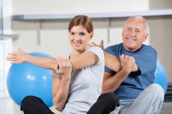 Лечебная физкультура с тренером