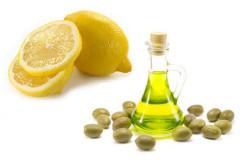 Оливковое масло и лимонный сок для чистки печени и почек