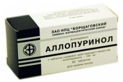 Аллопуринол для лечения камней в почках