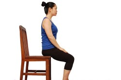 Упражнения на стуле при пиелонефрите