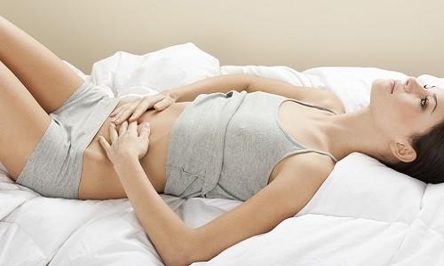 Боль в животе - симптом отказа почек