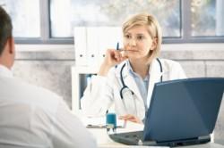 Обращение к доктору для установления диагноза