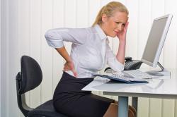 Боль в пояснице - признак заболевания почек